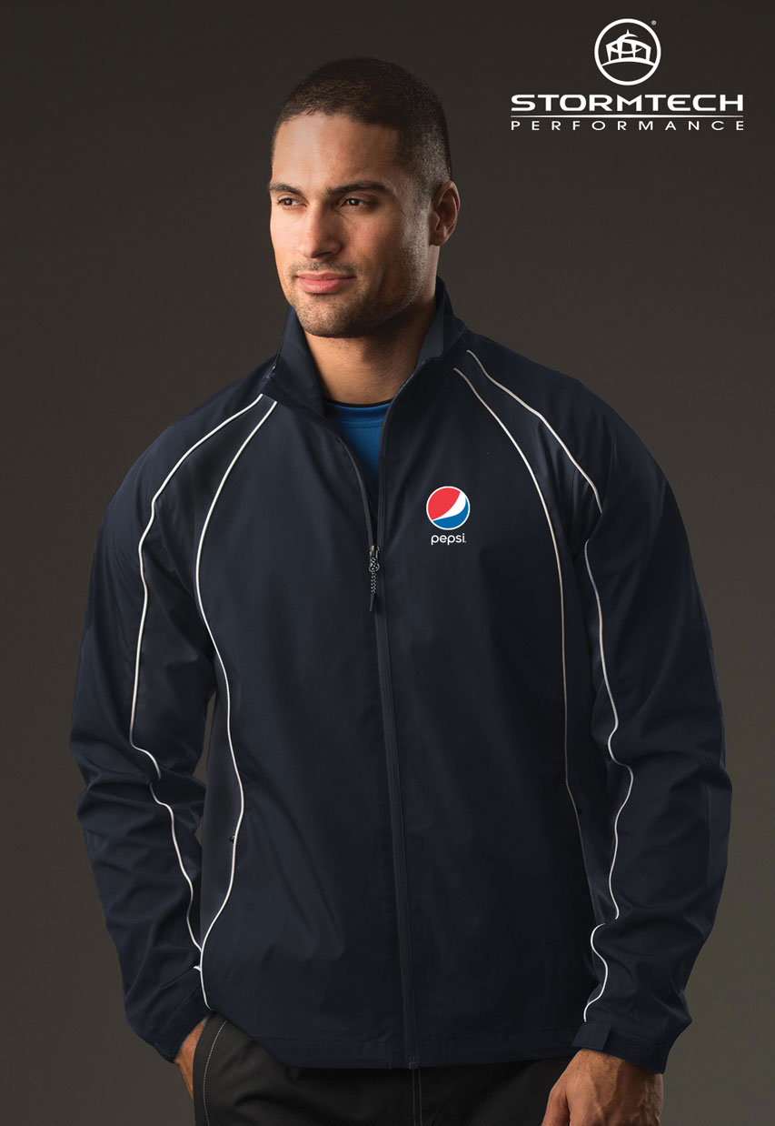 Men's Warrior Training Jacket - Pepsi