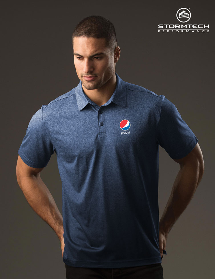 Men's Mirage Polo - Pepsi