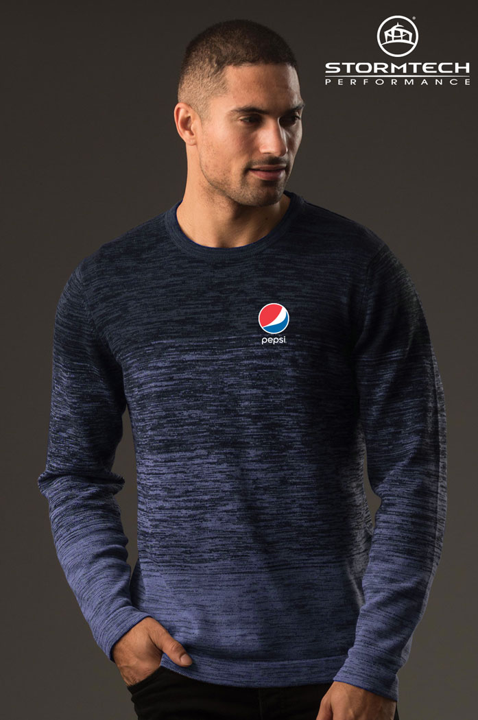 Men's Avalanche Sweater- Pepsi