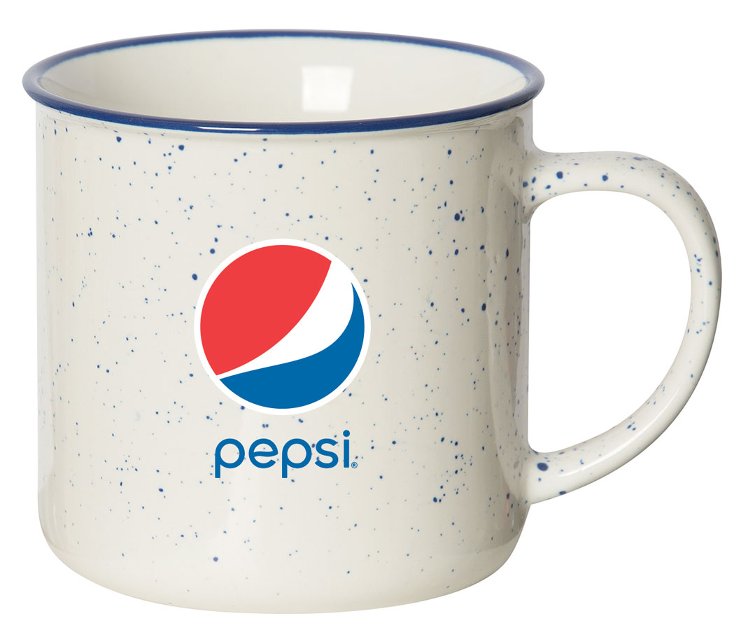 12oz Speckled Mug - Pepsi