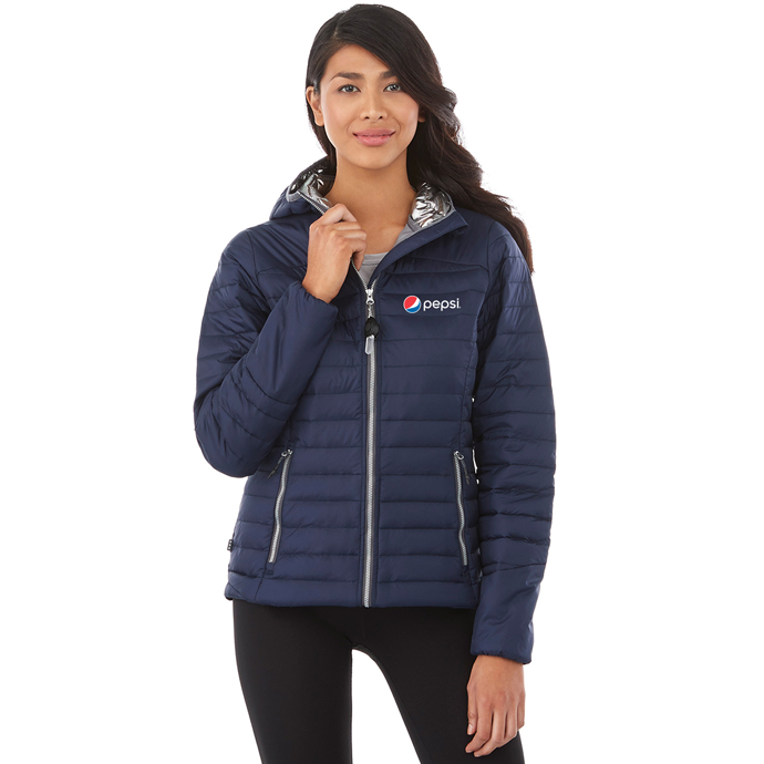 Ladies Silverton Packable Insulated Jacket Pepsi