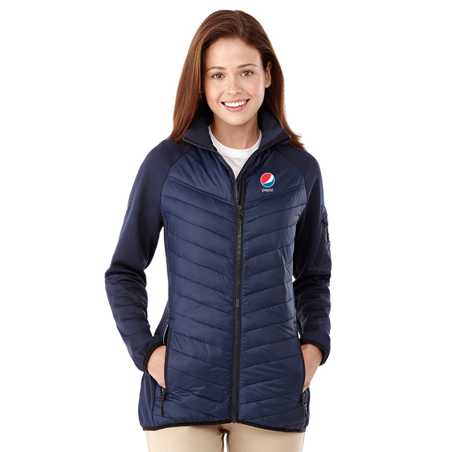 Ladies Banff Hybrid Insulated Jacket Pepsi
