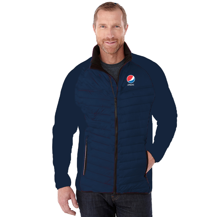 Men's Banff Hybrid Insulated Jacket Pepsi