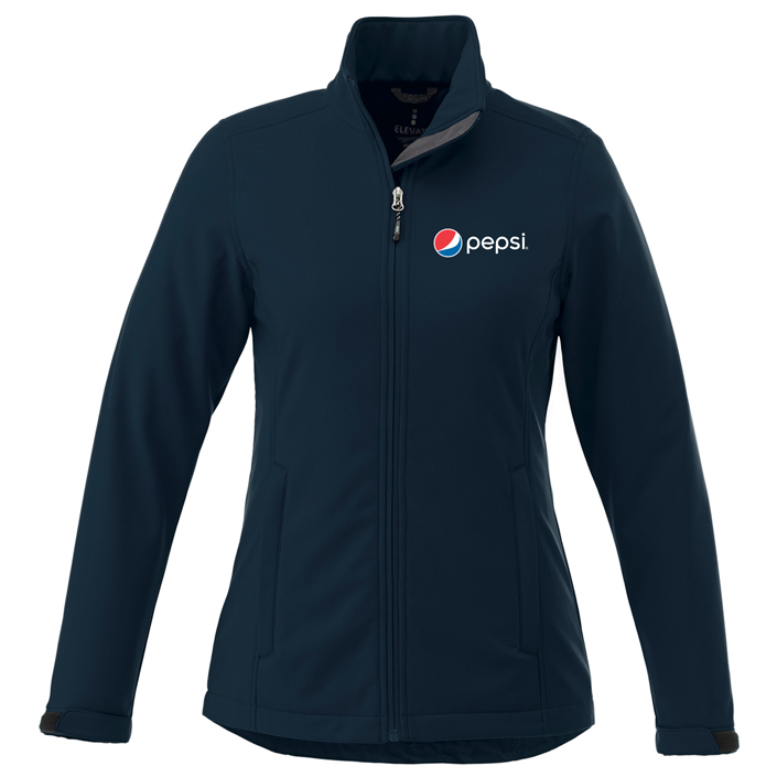Ladies Maxson Softshell Jacket Pepsi