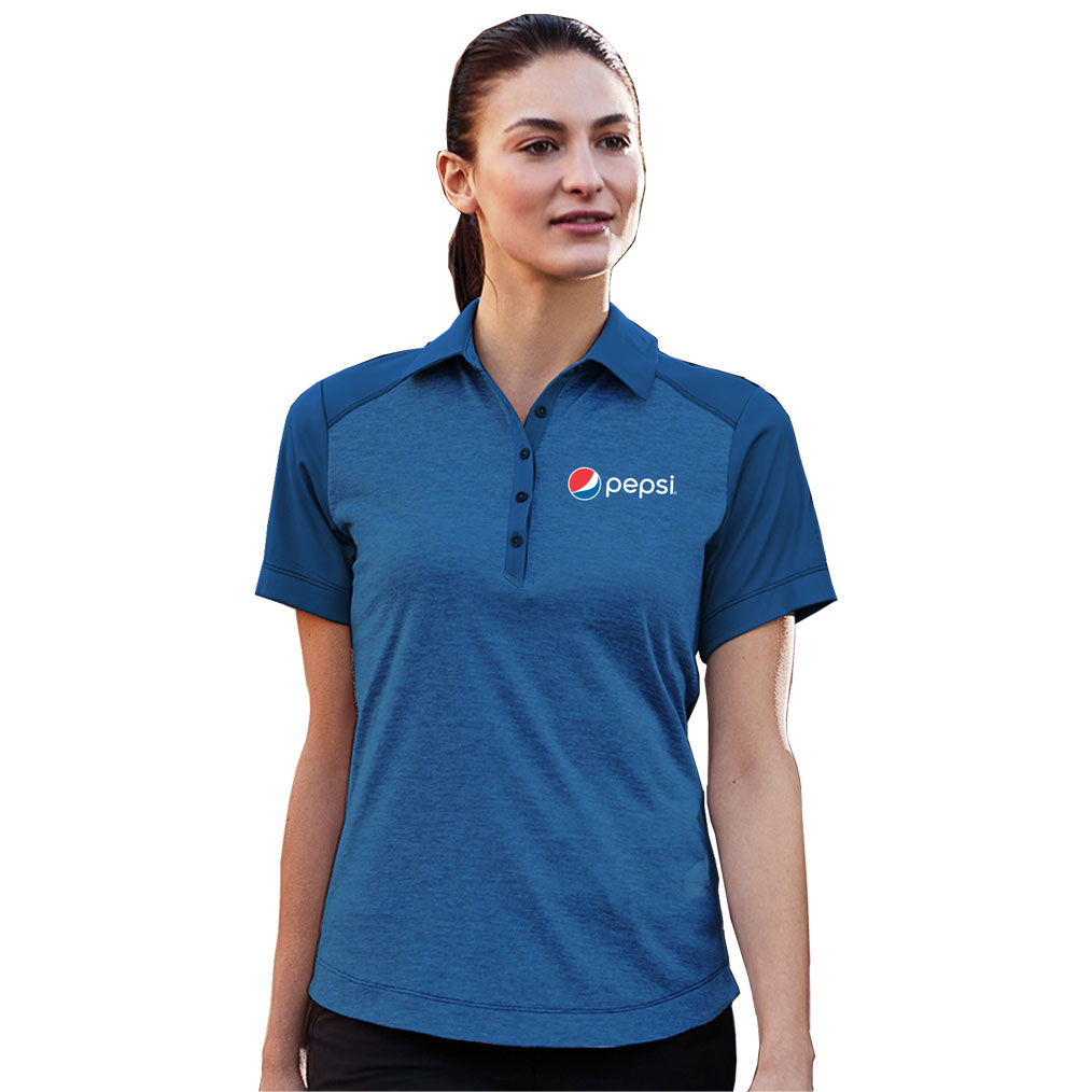 Ladies Sagano Polo Pepsi