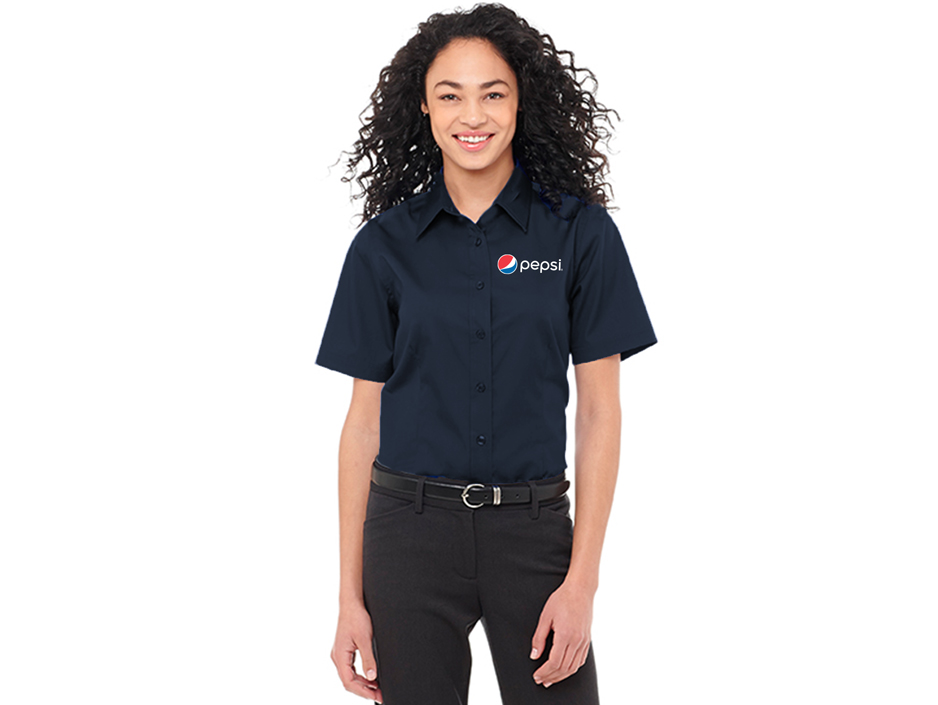 Ladies Stirling SS Shirt Pepsi