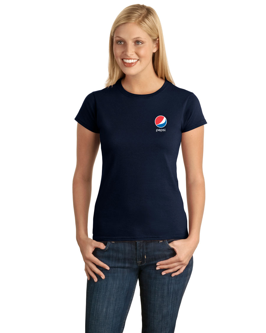 Ladies' Softstyle® Junior Fit T-Shirt Pepsi