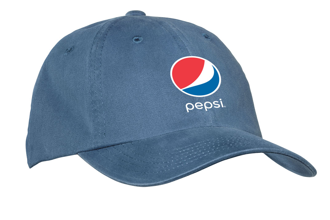 Garment Washed Cap - Pepsi