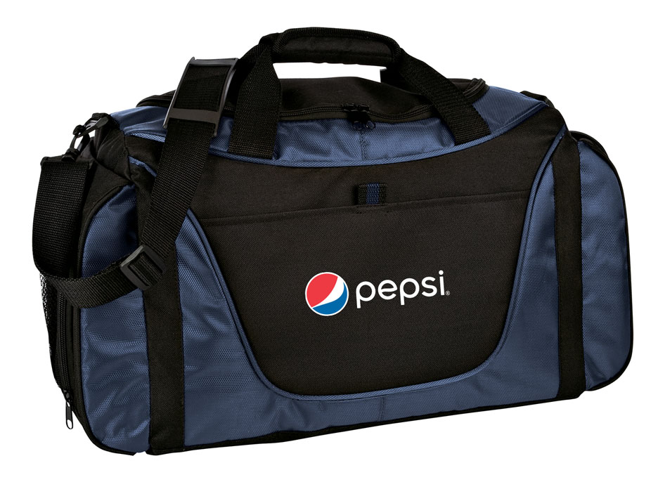 Medium Two-Tone Duffel - Pepsi