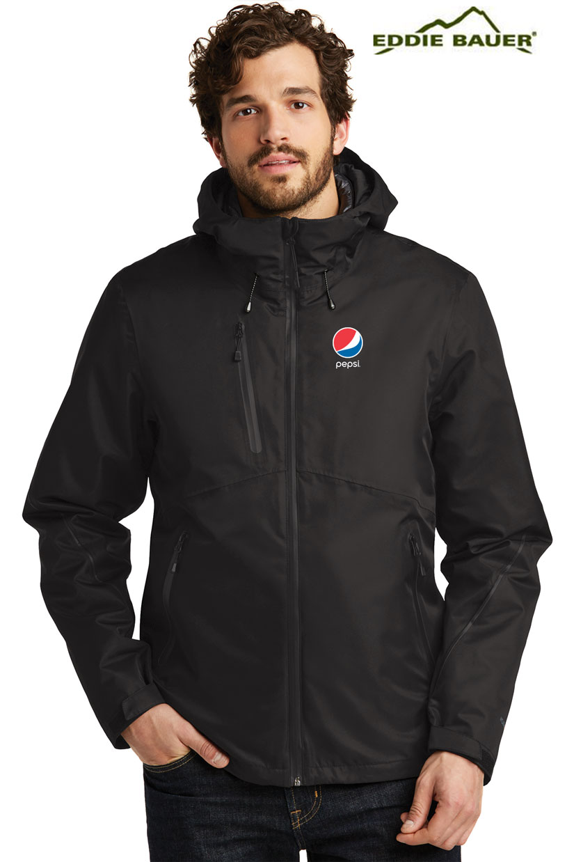Eddie Bauer® Men's WeatherEdge® Plus 3-in-1 Jacket - Pepsi
