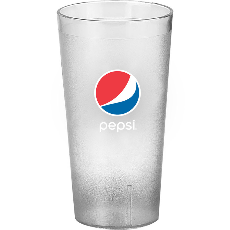 20 oz Clear Everyday Cup - Pepsi