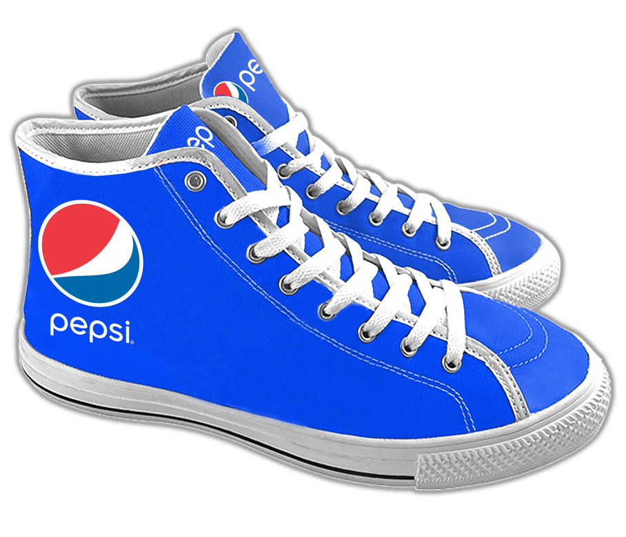 Ladies' Court Sneakers - Pepsi - Login For Special $