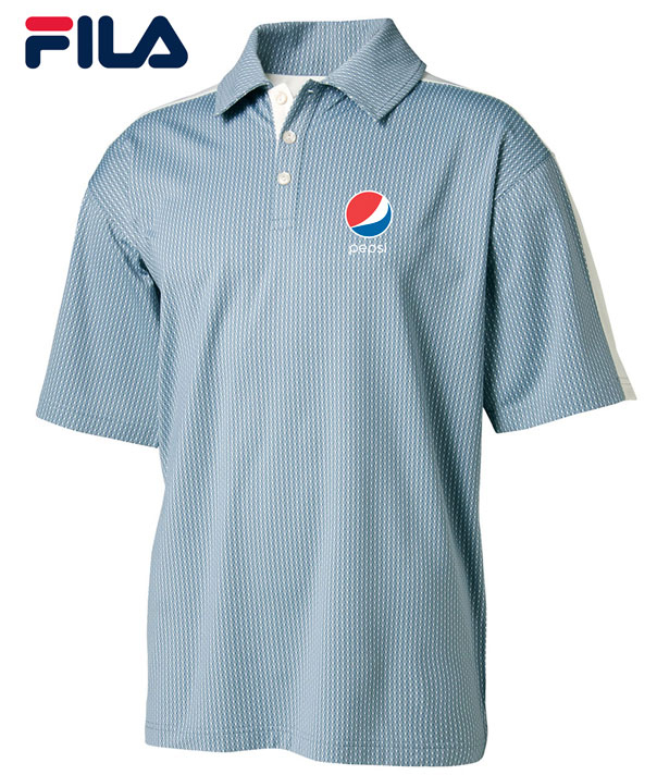 FILA Men's Palermo Polo - pepsi