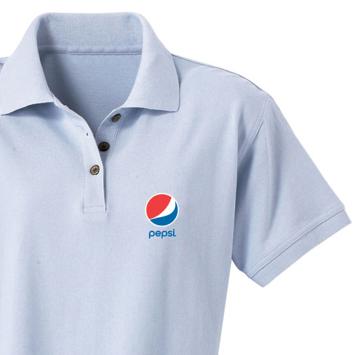 Ladies' Essential Golf Shirt - Pepsi
