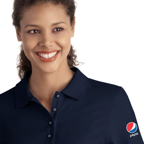 Ladies' Silk Touch 3/4-Sleeve Polo - Pepsi