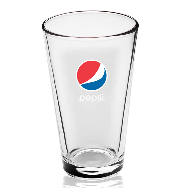 16oz Mixing Glass - Pepsi - Click For $