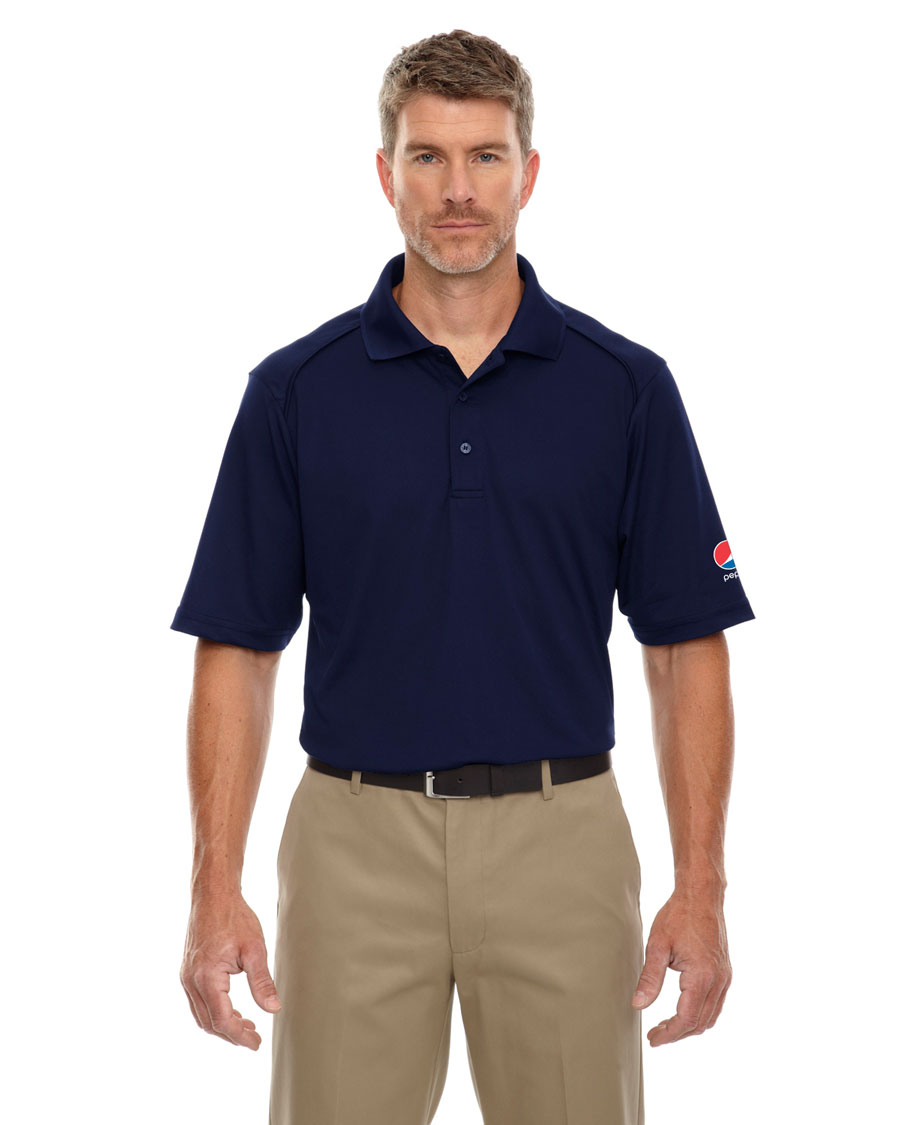 Men's Shield Snag Protection Short-Sleeve Polo - Pepsi