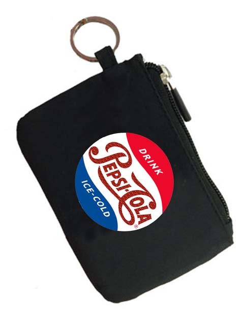 Pepsi Cola Vintage Coin Purse Key Chain