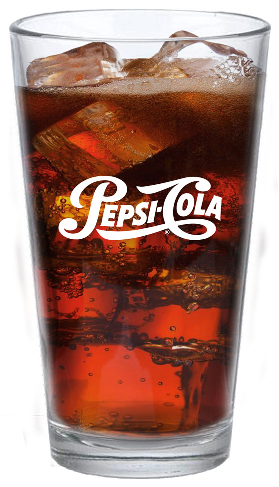 16oz High Density Acrylic Pint - 50pcs/Pack - Pepsi Cola - Login For Special $
