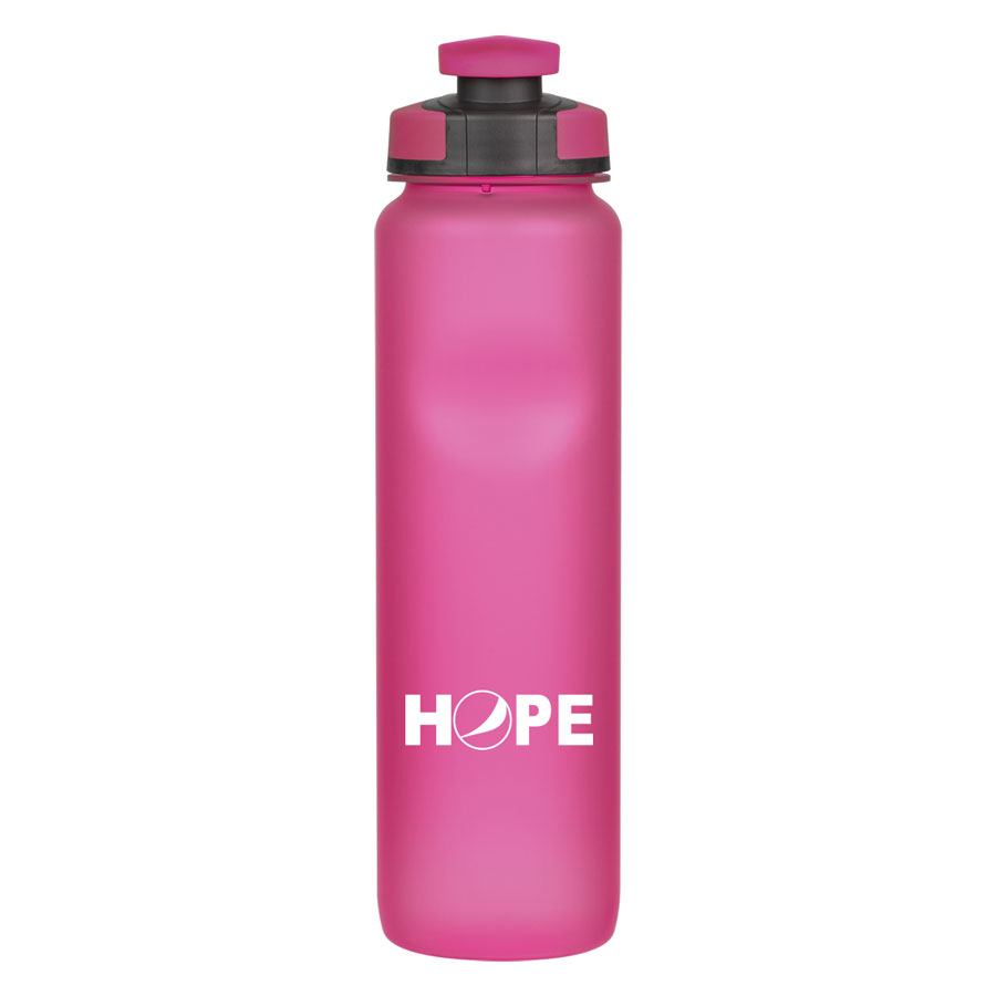 32 oz. Rubberized Water Bottle - HOPE