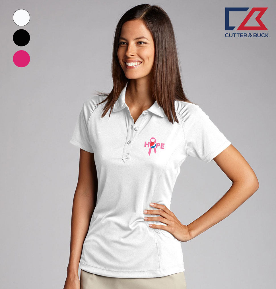Cutter & Buck Ladies' CB DryTec Northgate Polo - Awareness