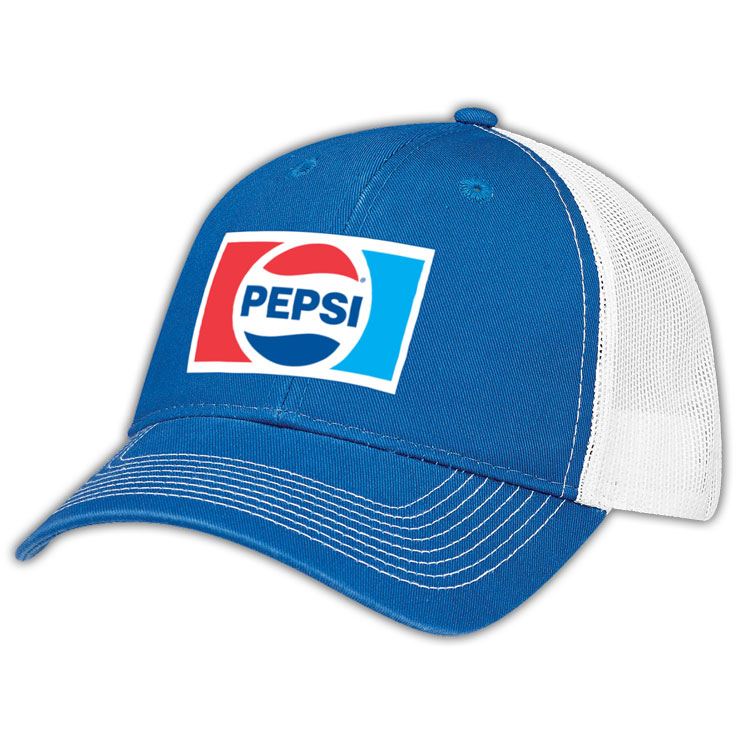 Pepsi Retro Deluxe Chino Twill / Soft Nylon Mesh