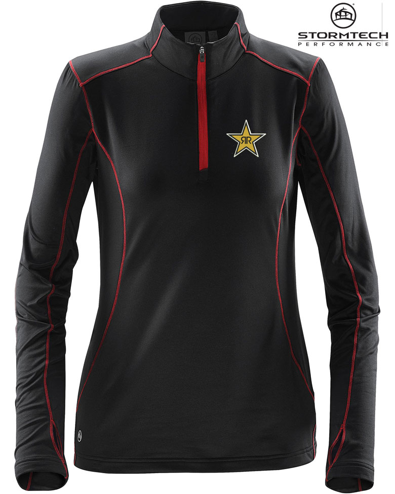 Women's Pulse Fleece Pullover - Rockstar