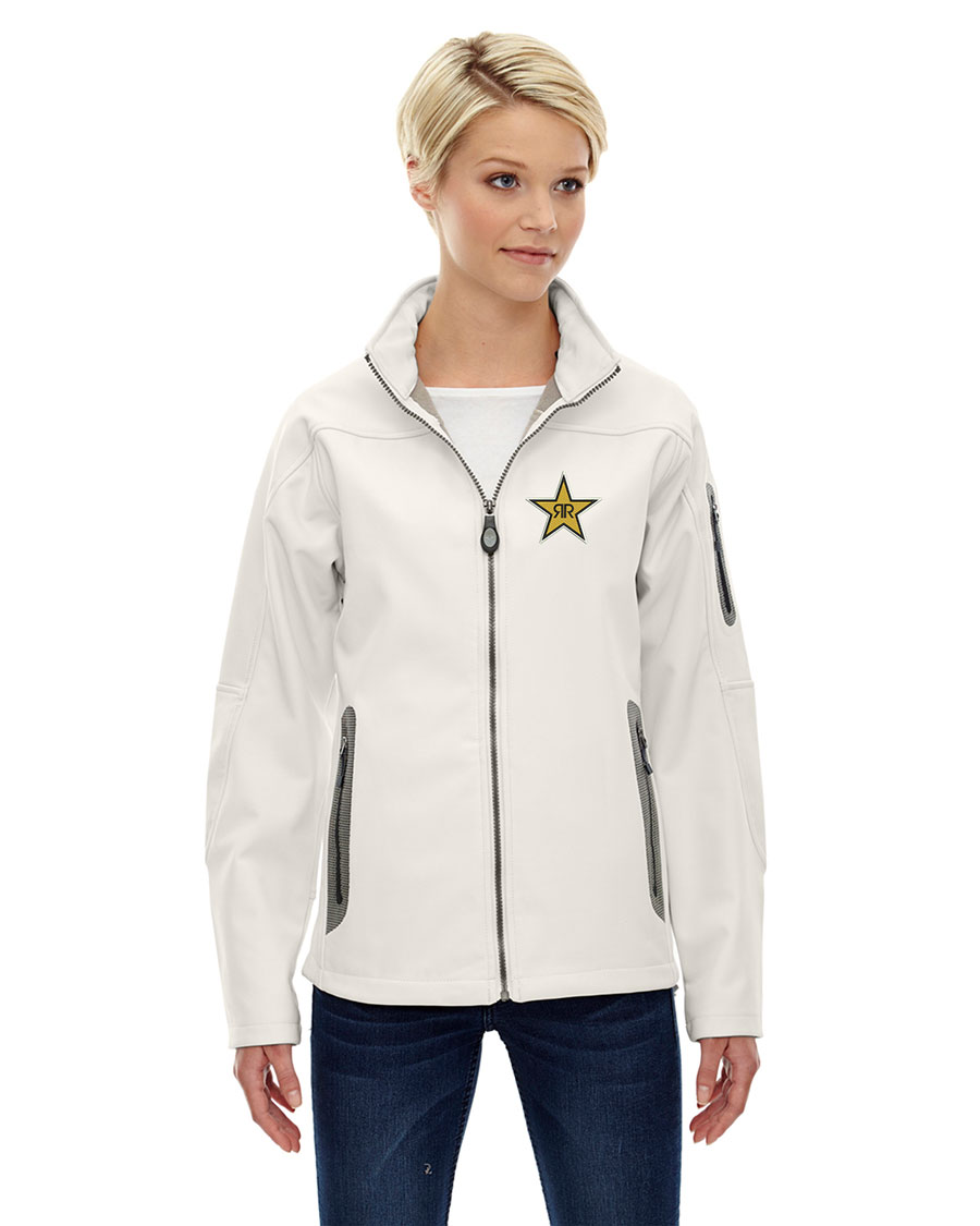 Ladies' Three-Layer Fleece Bonded Soft Shell Technical Jacket - Rockstar