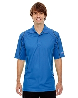 Men's Snag Protection Colour-Block Polo With Piping - Aquafina