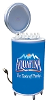 Cooler Fridge on Wheels - Aquafina