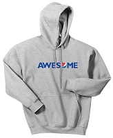 AWESOME Heavy Blend» 50/50 Hooded Sweatshirt Grey (Unisex)