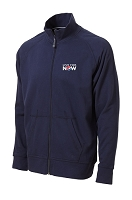 AllPro Cotton Fleece Track Jacket - Live for Now