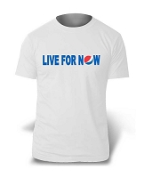 Live For Now T-Shirt (White)