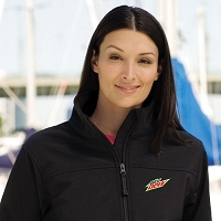 Ladies' Soft Shell Jacket - Mountain Dew
