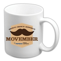 11 oz Ceramic Mug - Movember