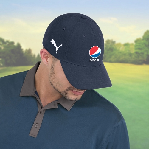 Puma 6 Panel Full Fit Cap - Pepsi