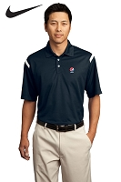 Men's Nike Golf - Dri-FIT Shoulder Stripe Polo - Pepsi