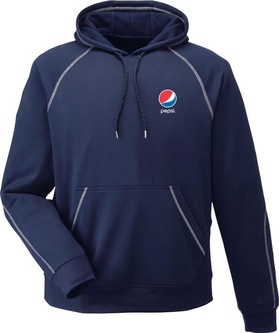 Adult Performance Fleece Hoodie - Pepsi