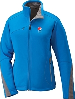 Ladies' Bonded Fleece Jacket - Pepsi