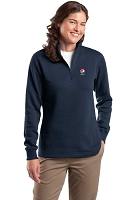 Ladies' 1/4-Zip Sweatshirt - Pepsi