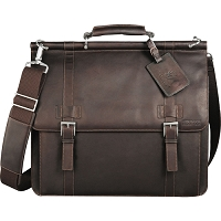 Kenneth Cole® Colombian Leather Dowel Compu-Messng