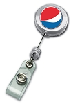 Retractable Security Badge Reel - Pepsi