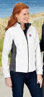 Port Authority - Ladies' Two-Tone Soft Shell Jacket - Pepsi
