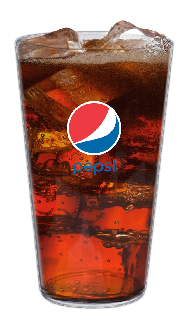 16oz High Density Acrylic Pint - 50pcs/Pack - Pepsi