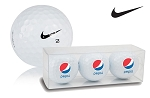 Nike One Series Refinished Golf Balls - Pepsi