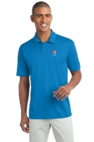 Men's 100% Polyester Wicking Dry-fit Polo - Pepsi