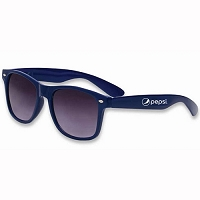 Deluxe Hipster Sunglasses - Pepsi