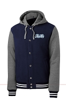 Men's Sport-Tek® Insulated Letterman Jacket - Pepsi Cola