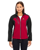 Terrain Ladies Colour-Block Soft Shell Jacket - Rockstar