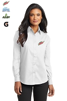 Ladies' Long Sleeve Value Poplin Shirt